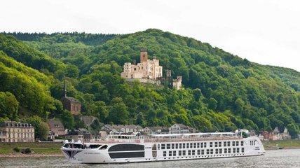 Самый роскошный речной круизный лайнер (Фото)