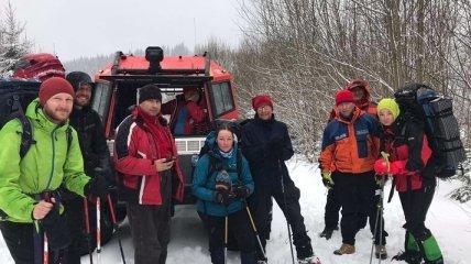 Спасатели удивили рассказом о найденных в Карпатах туристах, которые не теряли ориентир и не нуждались в помощи