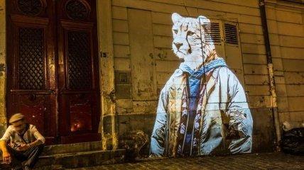 Городское сафари на улицах Парижа (Фото)