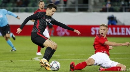 Шикарный гол с лету в касание - в обзоре матча Швейцария - Хорватия (видео)