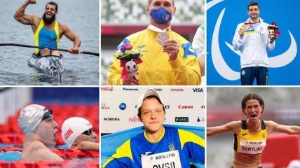 Украинские спортсмены на Паралимпиаде в Токио