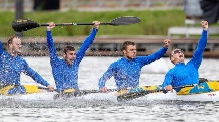 Сборная Украины завоевала 11 наград на этапе КМ по гребле на байдарках и каноэ