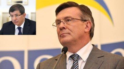 Глава МИД Украины встретился с министром иностранных дел Турции