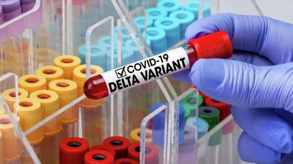 Дельта-штамм лучше передается по воздуху, нежели изначальный вариант вируса
