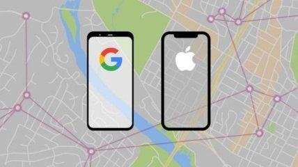 Apple і Google будуть відслідковувати хворих на COVID-19