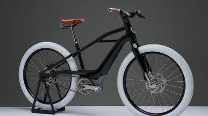 Напоминает первый мотоцикл: Harley-Davidson представил электрический велосипед