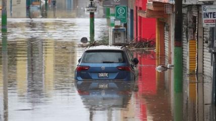 Штат Идальго в Мексике ушел под воду