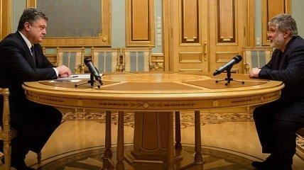 """""""Мы просто поговорили"""": Коломойский - о встрече с Порошенко"""