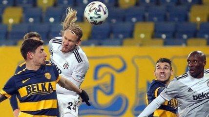 Бывший защитник Динамо забил во втором матче кряду в Турции (видео)