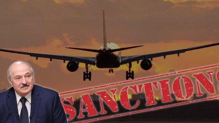 Белорусским самолетам запретили посадку в ЕС