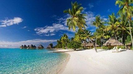 Самые красивые пляжи с белым песком (Фото)