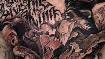 Для тех, кто любит все реалистичное: крутые идеи татуировок (Фото)