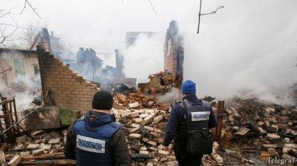 Боевики продолжают препятствовать работе СММ ОБСЕ на Донбассе