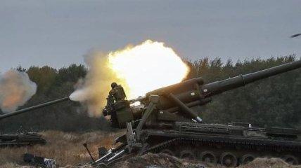 Силы АТО возле Железного оккупанты накрыли минометным огнем