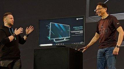 Acer Predator CG437KP: игровой 43-дюймовый 4K-монитор с частотой обновления 144 Гц