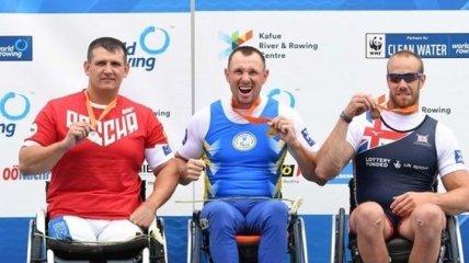 Украинские паралимпийцы стали первыми на этапе Кубка мира по гребле