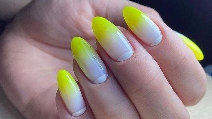 Маникюр 2020: идеи летнего нейл-арта на миндалевидную форму ногтя (Фото)