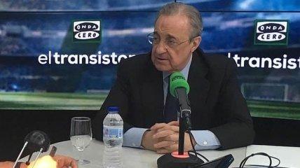 """Президент """"Реала"""" заявил об открытой Суперлиге"""