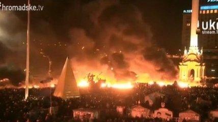 Милиция призвала женщин и детей покинуть Майдан