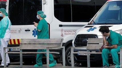 В Испании зафиксировали самый низкий за месяц показатель смертности от COVID-19