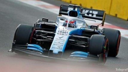 Williams завела двигатель на своей новой машине (Видео)