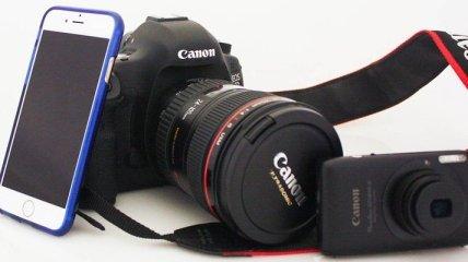 iPhone 6 против зеркальной камеры: сравнение качества съемки (Фото)