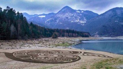 Ландшафтное искусство, которое сливается с природой (Фото)
