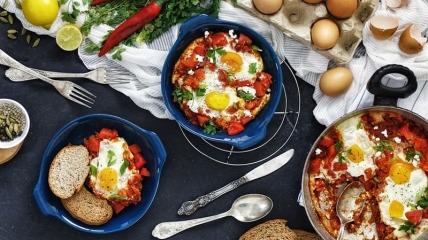 Пять интересных рецептов блюд из яиц