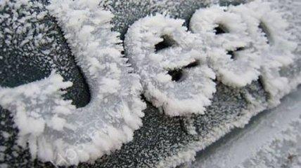 Замерзшие автомобили, как произведения искусства (Фото)