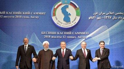 В Казахстане рассказали о разграничении дна и поверхности Каспийского моря