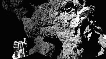 Зонд Philae передал первый снимок с поверхности небесного тела