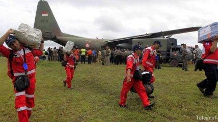 На месте крушения аэробуса в Индонезии обнаружены 9 тел