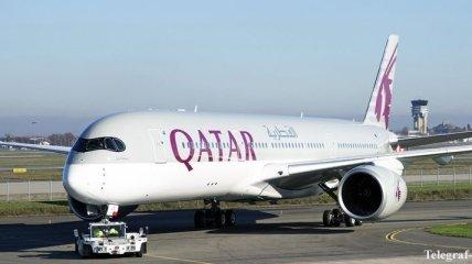 Авиакомпания Qatar начала полеты в Украину