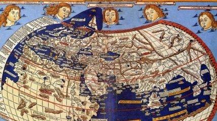 Старинные географические карты (Фотогалерея)