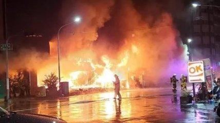 Пожежа в Гаосюні.