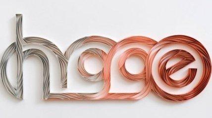 Трехмерные надписи со скрученной бумаги, которые удивляют своим креативом (Фото)
