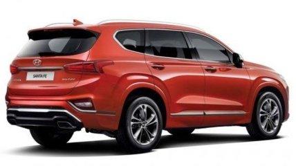 Hyundai Santa Fe получил модификацию с роскошной отделкой