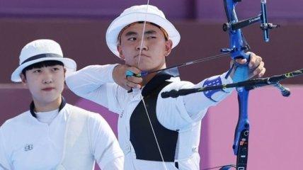 Сборная Кореи выиграла соревнования по стрельбе из лука в миксте на Олимпиаде-2020
