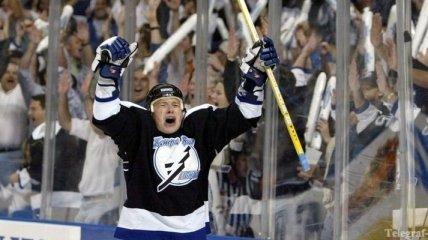 НХЛ. Руслан Федотенко выставлен на драфт отказов