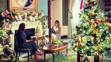 Рождественская традиция: Мелания Трамп пообщалась с детьми в канун Рождества