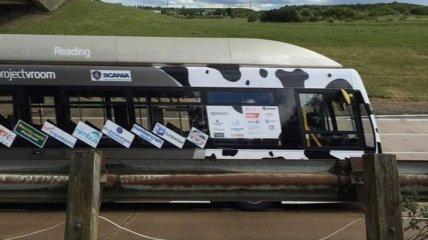 Автобус на топливе из навоза побил мировой рекорд скорости