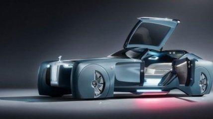 Шикарный автомобиль будущего от Rolls-Royce (Фото)