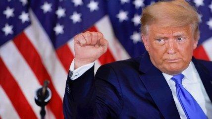 Дональд Трамп возвращается: заблокированный в соцсетях 45-й президент США запустил свой сайт