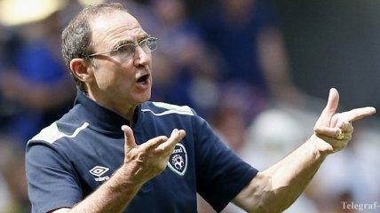 Судьба тренера сборной Ирландии может решиться после отбора на ЧМ-2018