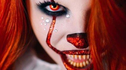 Лучшие идеи макияжа для Хэллоуина 2017 (Фото)