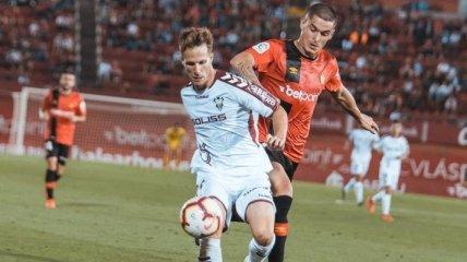 Мальорка обыграла Альбасете в первом матче за выход в Ла Лигу (Видео)