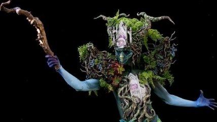 Боди-арт: Человеческое тело, превращенное в произведение искусства (Фото)
