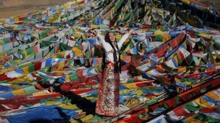 Повседневная жизнь людей Тибетского автономного района (Фото)
