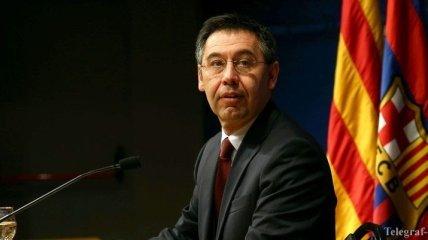 """""""Барселона"""" проведет внеплановые президентские выборы"""