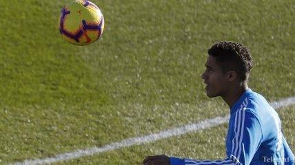 Защитник Варан намерен всю карьеру провести в Реале